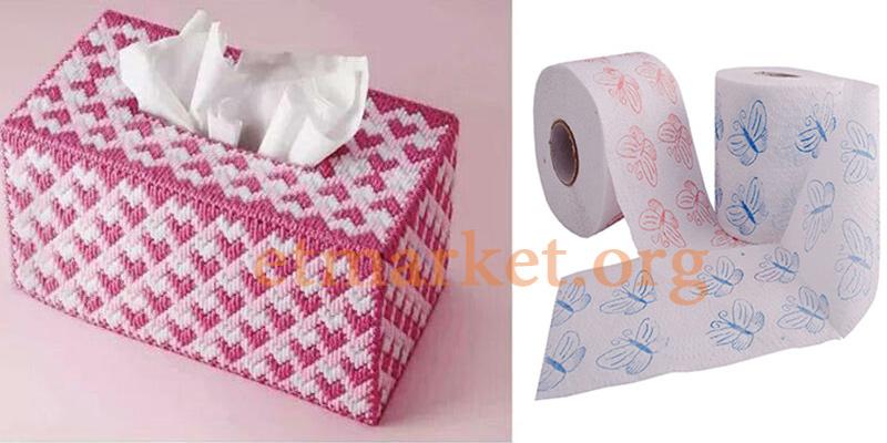 انواع دستمال کاغذی و سلولزی