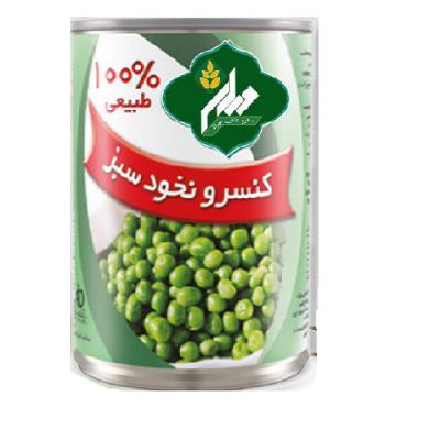 کنسرو نخود سبز