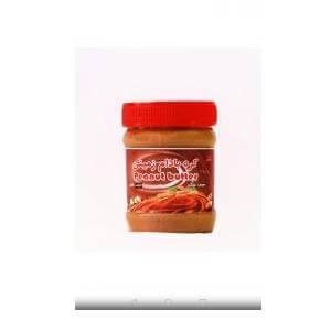 کره بادام زمینی بدون شکر