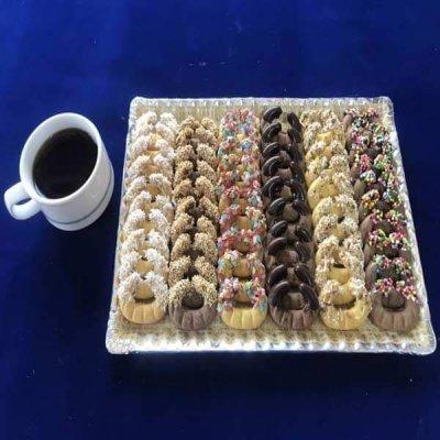 شیرینی آجیلی تازه و بسته بندی یک کیلو گرمی
