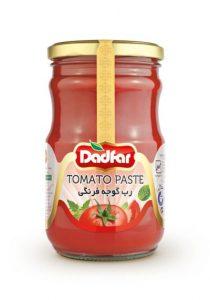 رب گوجه فرنگی دادفر