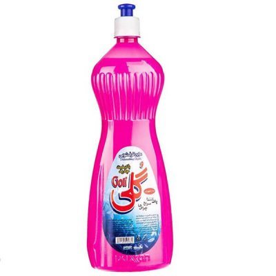 مایع ظرفشویی یک لیتری گلی- کارتن ۱۶ عددی