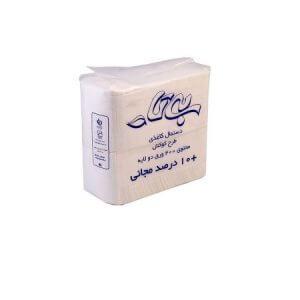 دستمال کاغذی کوکتل 500 سفید بیتا