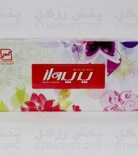 دستمال کاغذی 200 برگ پرپرواز