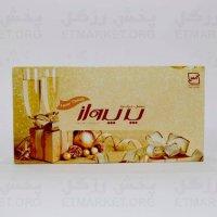 دستمال کاغذی ۱۰۰ برگ پرپرواز(۵۰ برگ دولا)-کارتن ۵۰ تایی