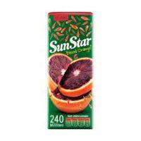 آبمیوه پالپدار سان استار 240 گرمی – کارتن 24 تایی