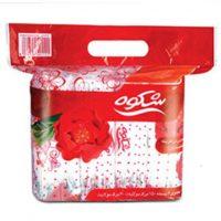 دستمال اقتصادی 300برگ گلدار شکوه-کارتن 12 تایی