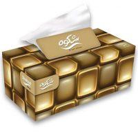 دستمال کاغذی 300 برگ ویژه طلایی شکوه