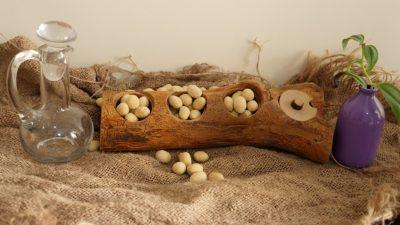 بادام زمینی روکش دار در طعمهای متفاوت