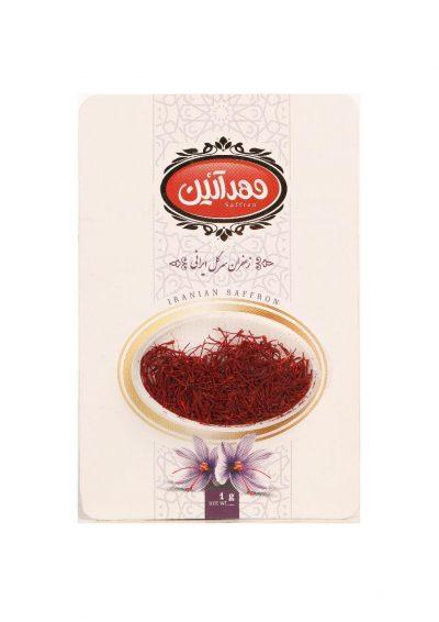 زعفران یک گرم مهرآیین- باکس 24 تایی