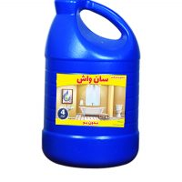 مایع جرم گیر بدون بو سان واش 4 لیتری -کارتن 3 تایی