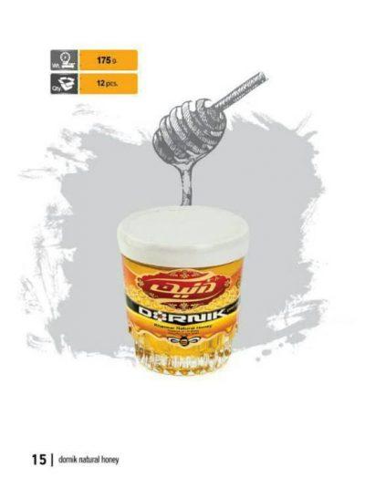 عسل درنیک خوانسار 175 گرمی- کارتن 12 تایی
