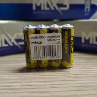 باتری قلمی max3 شرینک 4عددی بسته 48 عددی