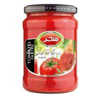 رب گوجه فرنگی سحر 680 گرمی شیشه ای- باکس 12 تایی
