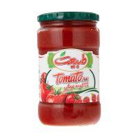رب گوجه فرنگی طبیعت 700 گرمی شیشه ای- باکس 12 تایی