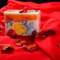 صابون لباسشویی سفید پژمان140 گرمی- کارتن 80 تایی