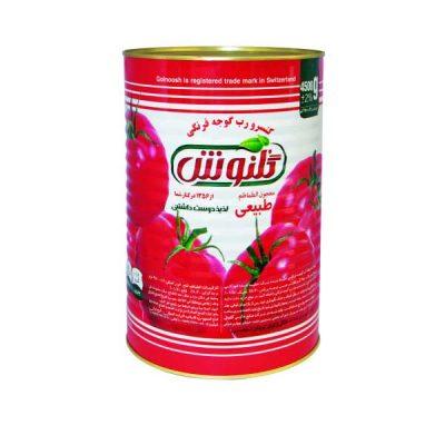 رب گوجه فرنگی 4500 گرمی گلنوش – باکس 4 تایی