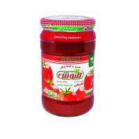 رب گوجه فرنگی شیشهای ۷۰۰ گرمی گلنوش – باکس 12 تایی