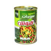 کنسرو سبزیجات ۳۸۰ گرمی گلنوش – باکس ۱۲ تایی