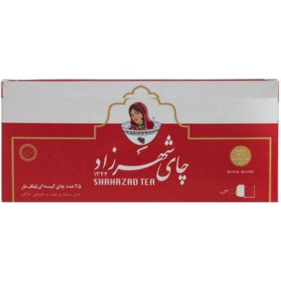 چای کیسه ای شهرزاد 25 عددی- کارتن24 تایی