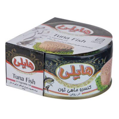کنسرو تن ماهی هایلی کلیددار 180 گرمی -باکس 24 تایی