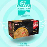 نان سنتی کاک اورنگ چند غله حاوی آرد جو دو سر