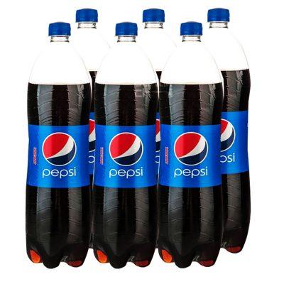 نوشابه کولا پپسی 1.5 لیتری خانواده- باکس 6 تایی