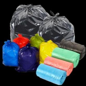 کیسه زباله درجه یک ابعاد متنوع در بسته بندی ۲۵ کیلویی
