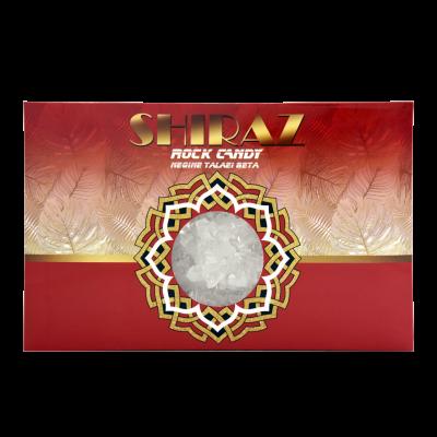 نبات شاخه سفید شیراز راک کندی 600 گرم -کارتن 18 تایی