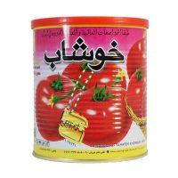 رب گوجه فرنگی خوشاب 800 گرم آسان بازشو- باکس ۱۲ عددی