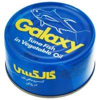 کنسرو تن ماهی گلکسی 180 گرمی -باکس 24 تایی