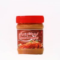 کره بادام زمینی با شکر (کرانچی) مهرگیاه ۴۰۰ گرمی-باکس ۱۶ عددی